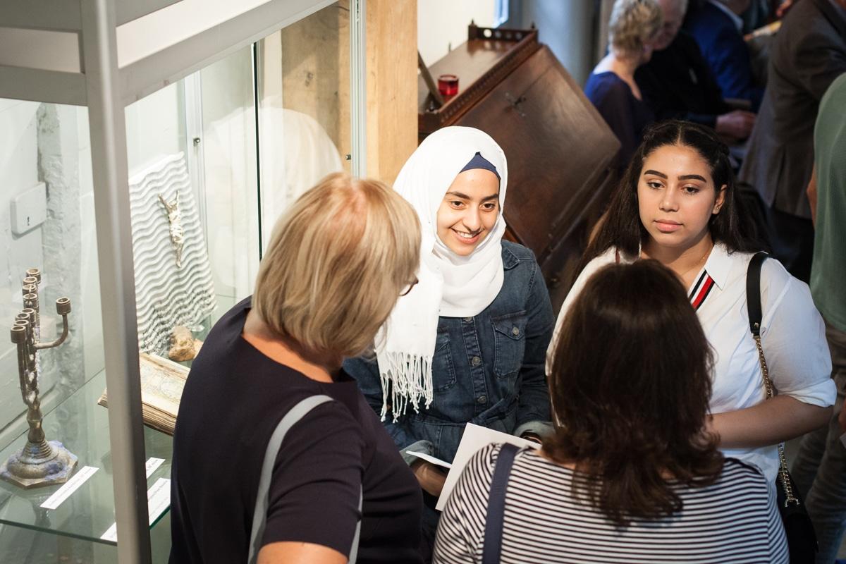Opening expositie 'Vluchten door de eeuwen heen'