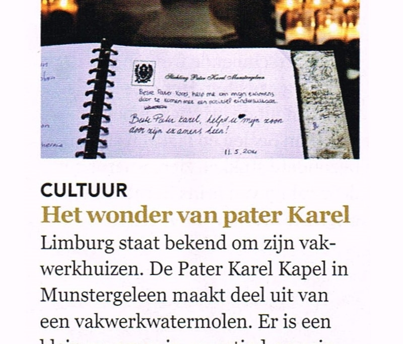 De kapel in de media - Maandblad Plus